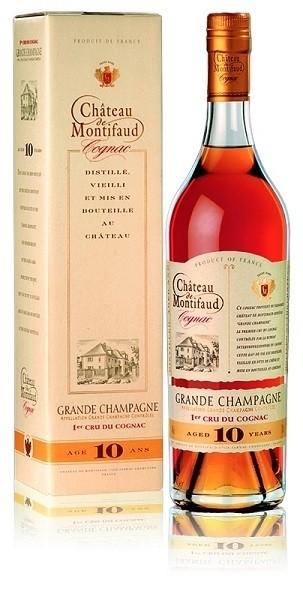 Chateau de Montifaud Grande Champagne L10 10 y. 0,7L  40%