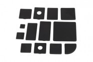 Végzáró kupak, 30x120 Nut6, PA fekete