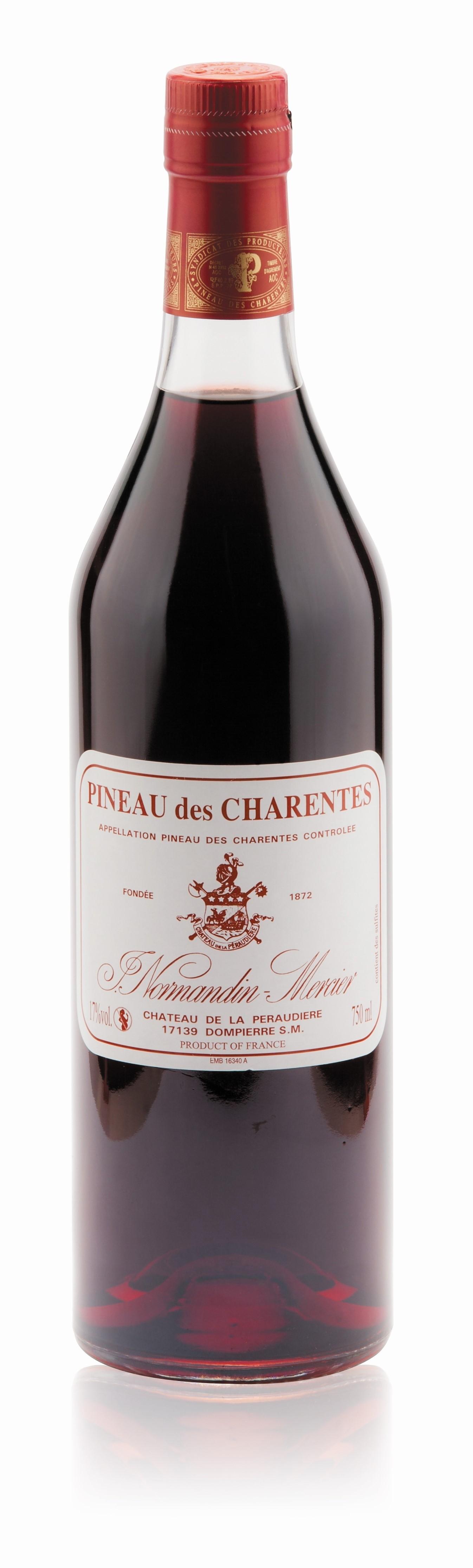Normandin-Mercier Pineau Rouge 0,75l 17%