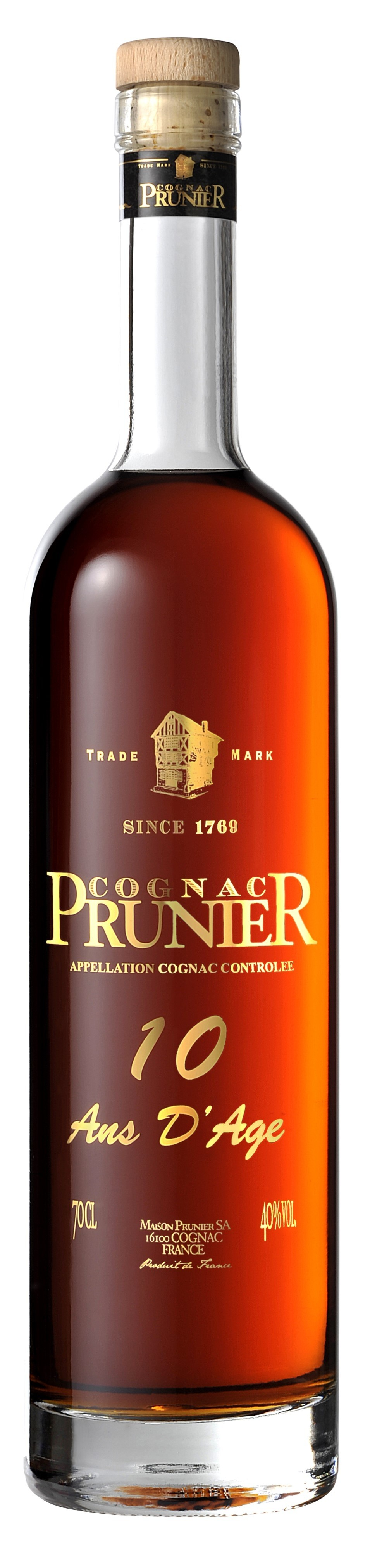 Prunier 10 Years Old 0,7L 40%