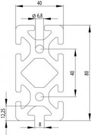 ITEM KOMPATIBILIS PROFIL I 40X80 S NUT8
