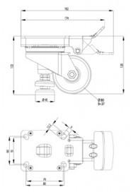 Dokkoló kerék, D80