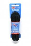 TEX-STYLE Waxolt Fűző Fekete