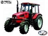 MTZ-1221.3 Traktor (132 LE, turbós, 6 hengeres, mech.váltó, egyenes híd, mb) BELARUS