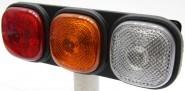 JCB lámpabúra piros