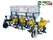 Kultivátor 6 soros forgókapás, műtrágyaszóró tartály Big bag tartály, csukhatós BUSA