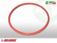 Hüvely gumigyűrű szilikonos 122x5 MTZ-50 piros