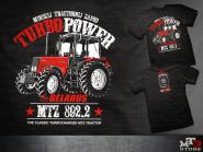 Belarus-MTZ 892 TurboPower póló (M)
