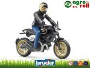 Ducati versenymotor + motoros BRUDER