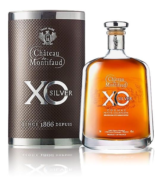 Chateau de Montifaud Petite Champagne XO Silver Att. 0,7L 40%