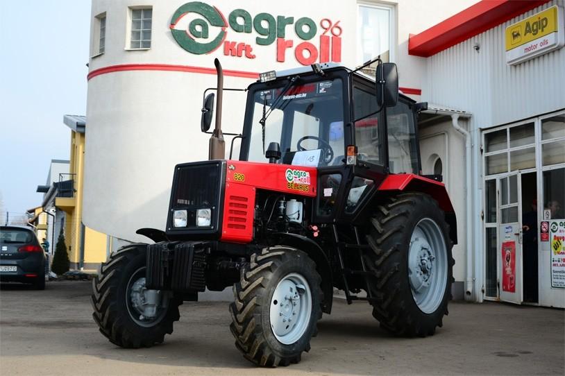 MTZ-820 Traktor (80 LE, mechanikus váltó, szöghajtásos első híddal) BELARUS