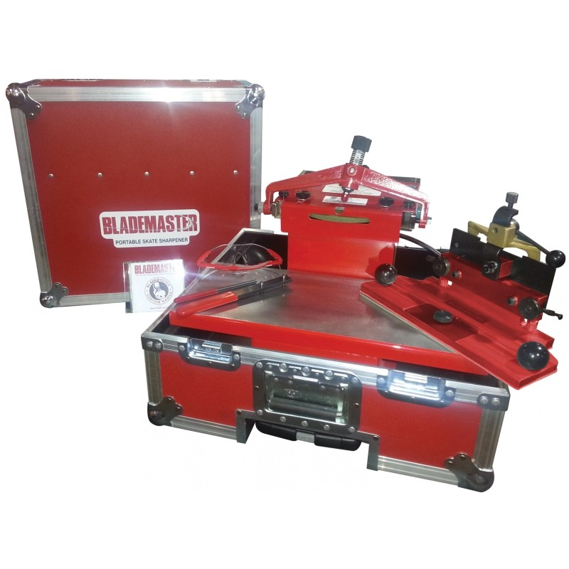 BLADEMASTER SPB851G Hordozható Élezőgép SH2000 Korcsolya Befogóval