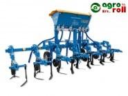 Kultivátor OMS-6/3M 300kg-os műtrágyaszoróval, merev kapás