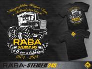 T.W. RÁBA Steiger 245 -40th- póló (M)