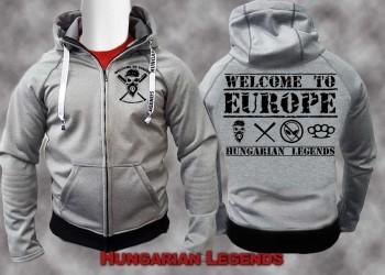 Welcome to Europe - softshell átmeneti kabát f42e0f12a0