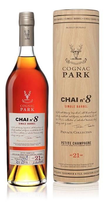 Park Chai No8 Petite Champagne 0,7L 43%
