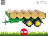 SIKU Trailer bálaszállító pótkocsi