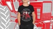 Belarus-MTZ 82 hektár harcos gyermek Póló (10 éves) fekete