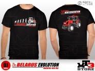 Belarus-MTZ EVOLUTION Póló ( XL ) fekete