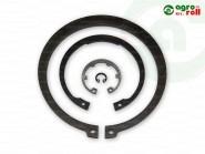 A090 zégergyűrű tengelyre