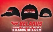 Belarus-MTZ baseball sapka (fekete, piros szegéllyel)