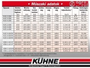 KVE-3-40K tip. 3 vasú váltvaforgató eke réselt kormánylemezzel (kombinált kerékkel, csoroszlya nélkül)