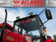 Belarus-MTZ Szélvédő fólia (átlátszó-transparent) 900x110mm