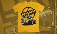 T.W. Rába Steiger sárga póló ÚJ! (S méret)