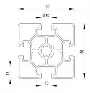 BOSCH KOMPATIBILIS PROFIL 60X60 L NUT10